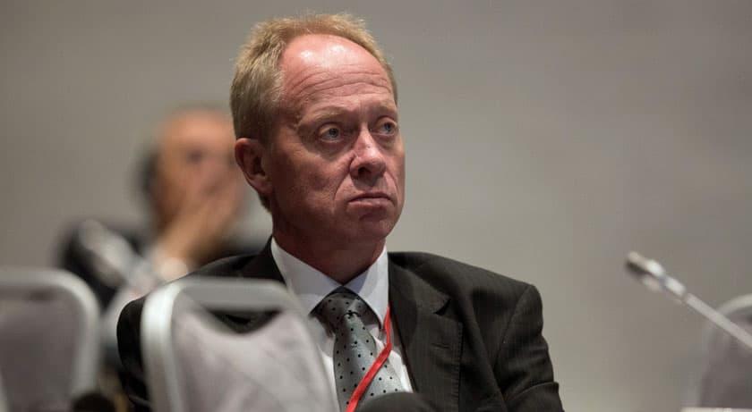 UTSKJELT: Jan Arild Ellingsen (Frp) fikk i dag gjennomgå etter å ha gitt støtte til «Odins soldater». (Foto: Stortinget)