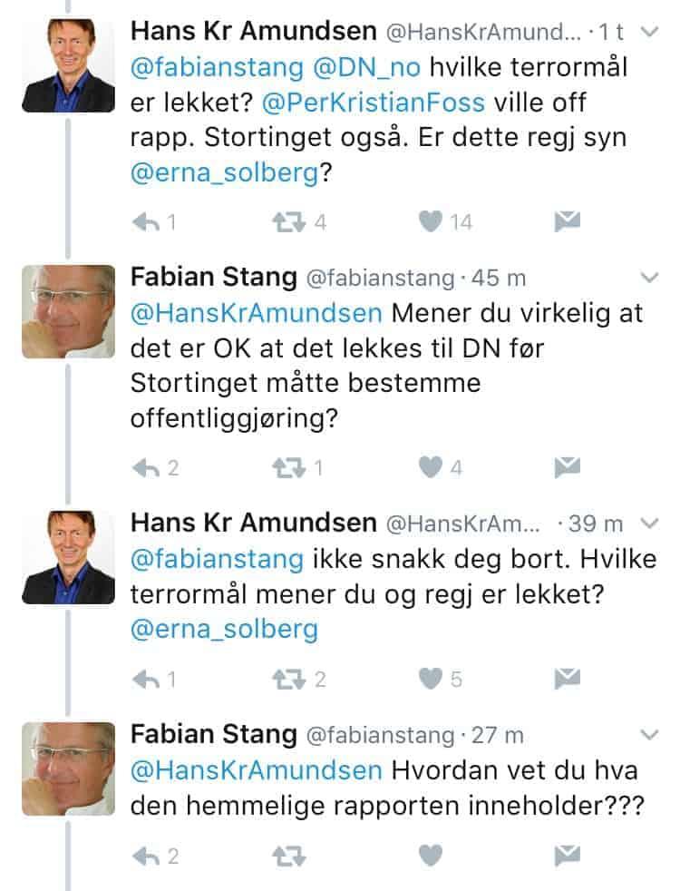 statssekretærer i norsk politikk
