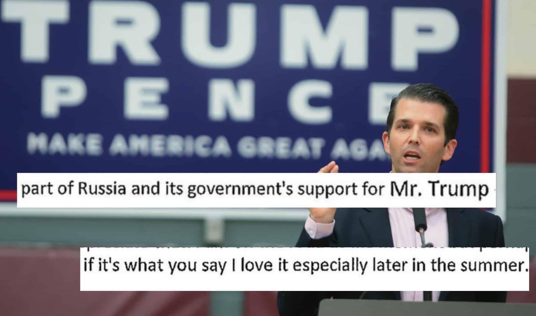 5053bdf4 9 ting du må vite om skandale-epostene fra Donald Trump Jr. – Filter ...