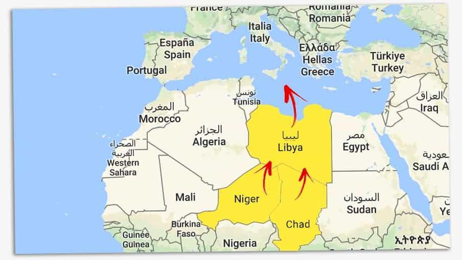 kart europa afrika Kan det fungere med asylmottak i Afrika? – Filter Nyheter kart europa afrika