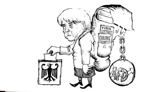Angela Merkels tunge bør
