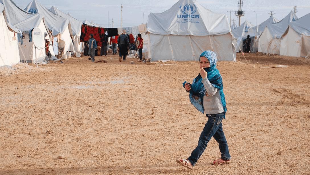 65af5986 Ceylanpinar flyktningleir i sørøstre Tyrkia huser syriske flyktninger. UNHCR