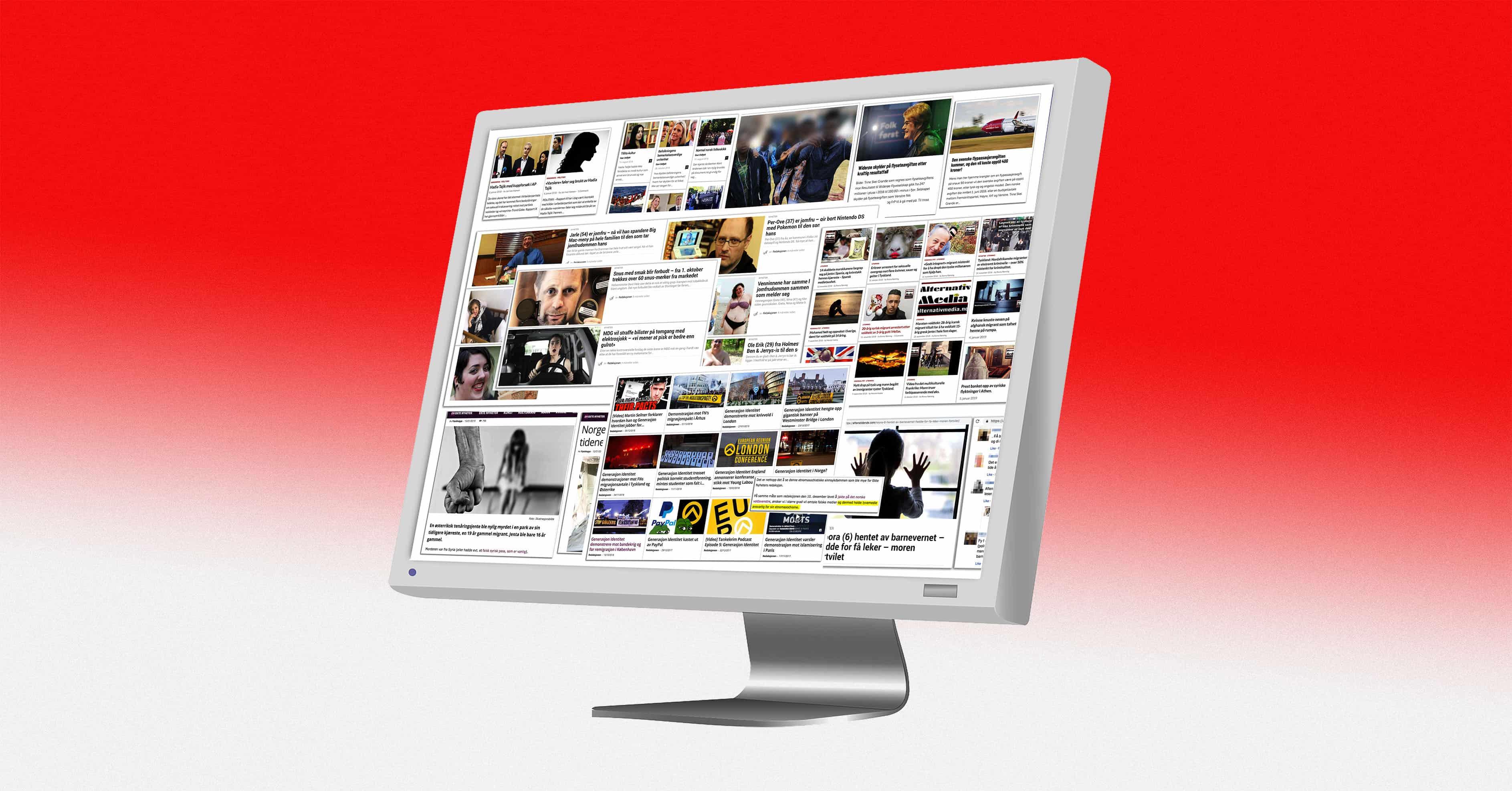 70740003b Oppdatert oversikt: Disse norske nettstedene må du være på vakt mot ...